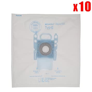 YanBan - 10 bolsas de polvo para aspiradora Bosch de microfibra ...