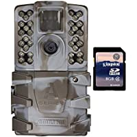 Moultrie A-35 14MP 60 HD Video Low Glow IR Game Trail Camera + 8GB SD Card