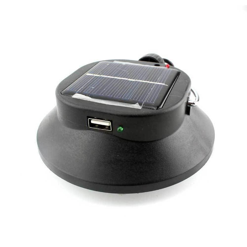 Ludage Solar multifunción LED lámpara lámpara tienda lámpara LED recargable USB carga Camping luz 9919b8