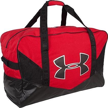 e22f618ecf Amazon.com  Under Armour Hockey Pro Equipment Bag Black UASB-PEB-BK ...