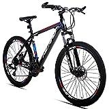 Hiland 26'' Aluminum Mountain Bike 24 Speeds with