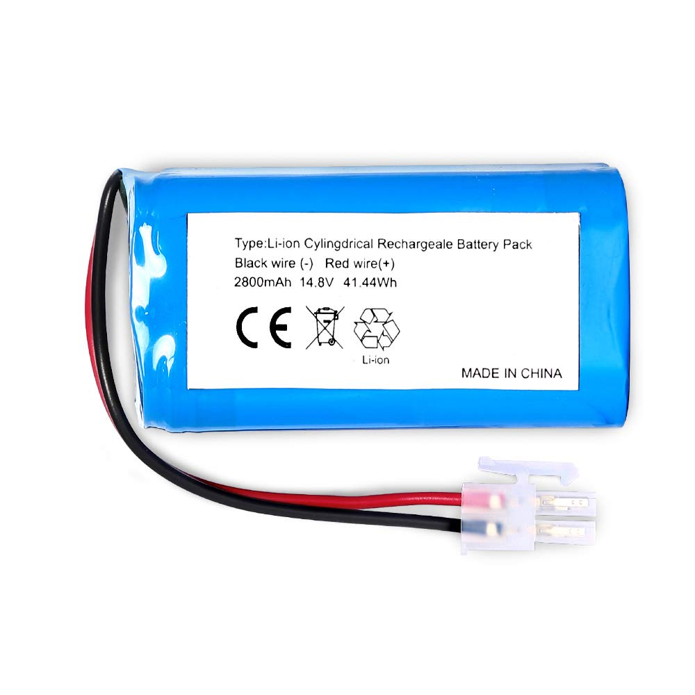 LiBatter Replacement Battery for ILIFE A4 A4S A6 V7 Robot Vacuum Cleaner(14.8V 2800mAH) by LiBatter