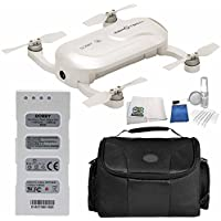 ZeroTech DOBBY Pocket Drone - Includes Medium Carrying Case + 5 Piece Cleaning Kit + Microfiber Cleaning Cloth