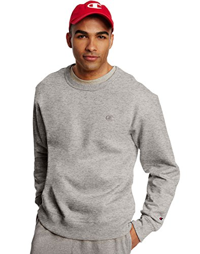 champion-mens-powerblend-pullover-sweatshirt-oxford-grey-large