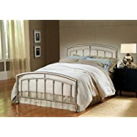 Hillsdale Claudia King Spindle Headboard in Matte Nickel