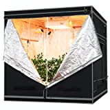 Earth Worth 76″X76″X76″ Mylar Hydro Shanty Hydroponics Indoor Grow Tent – Earth Worth Quality at an Affordable Price! Review