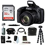 Canon Powershot SX530 HS Camera with 32GB Deluxe Review and Comparison