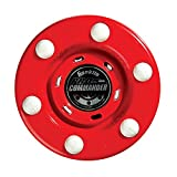 Franklin Sports NHL Pro Commander Street Hockey Puck - 1 Pack (Red)