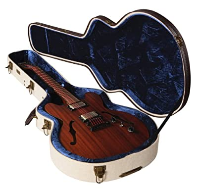 Gator GW-JM 335 Journeyman Series Semi-Hollow Gibson 335 Style Deluxe Wooden Guitar Case by Gator Cases