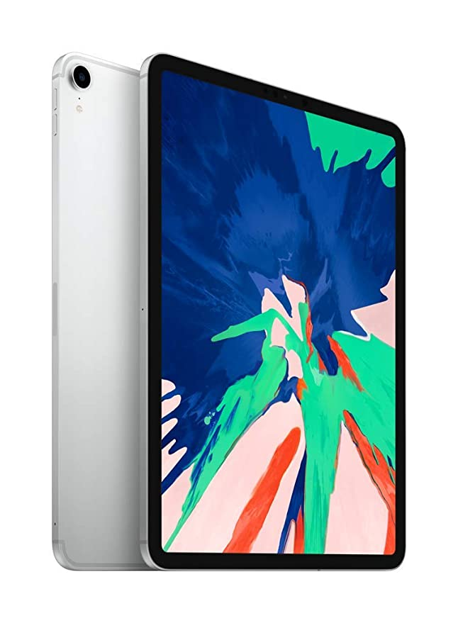 Apple iPad Pro (11-inch, Wi-Fi + Cellular, 64GB) - Silver at amazon