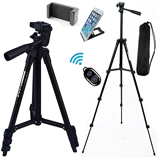 FOANT Aluminum Professional Lightweight Camera Tripod for iP