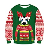 BFUSTYLE Kids&Parents Ugly Christmas Sweater Family Xmas Knit Pullover Sweatshirts