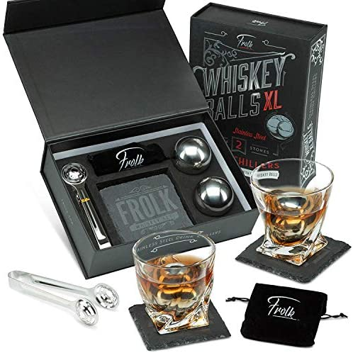 Whiskey Stainless Coasters Special Freezer product image