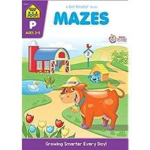 Mazes: Preschool Get Ready! Workbooks