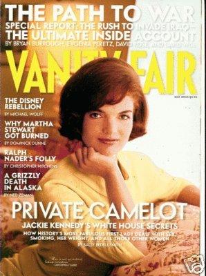 Vanity Fair Magazine May 2004 Jackie Kennedy (Single Back Issue)