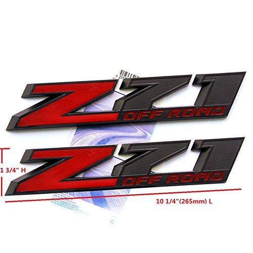 z71 off road emblems - 7