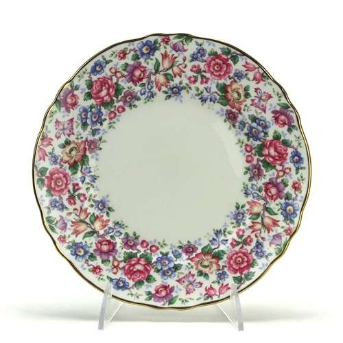 Springtime by Crown Staffordshire, China Luncheon Plate