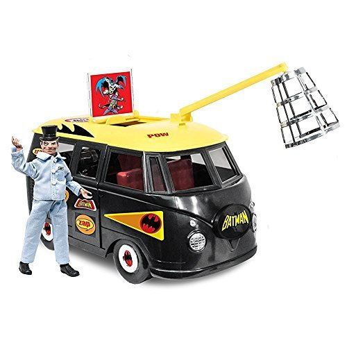 DC Comics Bus Playset for 8 Inch Retro Figures  Batlab With Exclusive Penguin Figure by Figures Toy Company