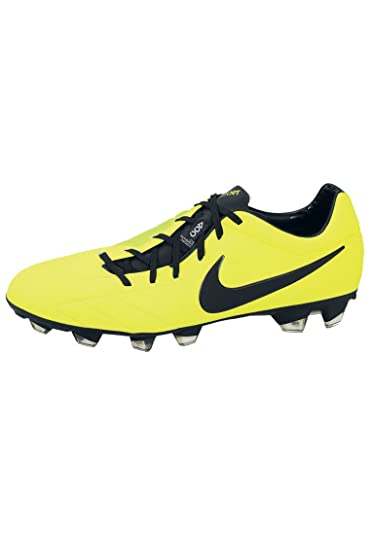 super popular 659b1 0ee21 Nike Chaussures de Foot Total 90 Laser IV FG Jaune/Noir/Citron Vert ...