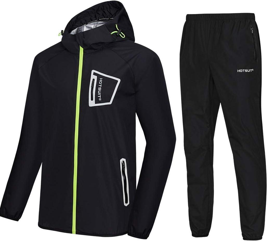 HOTSUIT Sauna Jacket for Men Workout Weight Loss Sauna Shirts