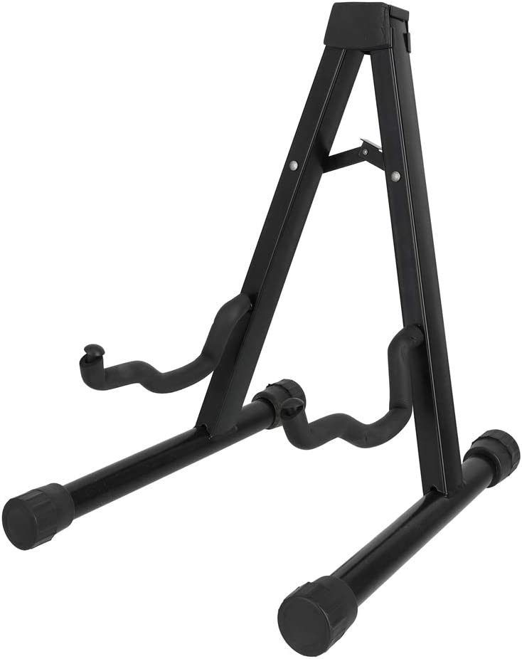 A-Frame Adjustable Folding Cello Stand Support for Violin 1/8-4/4 Cellos