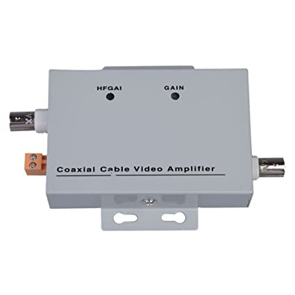 ceee07b96f3120 Image Unavailable. Image not available for. Color: XHTECH Coaxial Cable BNC  Video Signal Amplifier Booster CCTV