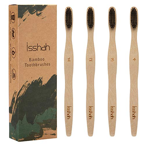 Isshah Biodegradable Ergonomic Toothbrush Individually