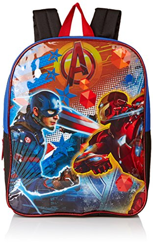 Marvel Boys' Civil War Backpack, Blue/Black