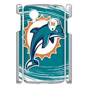 NFL Miami Dolphins For Google Nexus 5 Phone Cases GCD24910