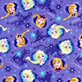 SHEETWORLD.COM Frozen Sisters Fitted Cradle Sheet