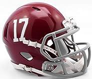Riddell NCAA Alabama Crimson Tide Helmet Mini Speed, One Size, Team Colors