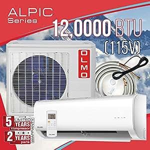 Amazon Com Olmo Alpic Ductless Mini Split Air Conditioner