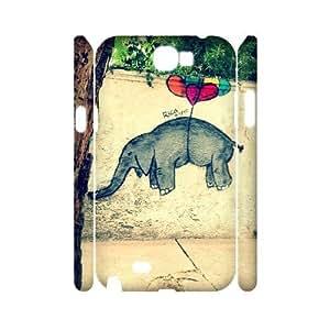 VNCASE Graffiti Phone Case For Samsung Galaxy Note 2 N7100 [Pattern-1]