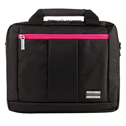 Laptop Case Magenta fits 10 to 12 inch Laptops for Lenovo ThinkPad, N Series, IdeaPad, 300e Series