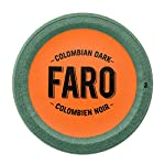 Faro Colombian Dark Roast Coffee, 100% Compostable, Rainforest Alliance Certified Single Serve Cups for Keurig K-Cup Brewers from Faro Roasting Houses