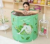 Sunhai& Adult Home Bath Bath Folding Bucket (size: 70 70cm)