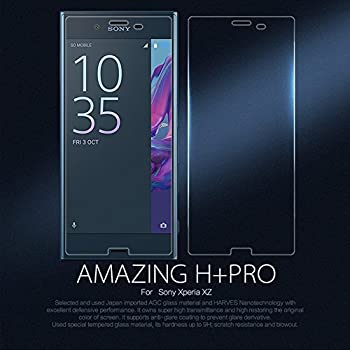 [3 Pack]-Sony Xperia XZ/XZS Tempered Glass, Sony Xperia XZ/XZS Screen Protector Glass 0.33mm 2.5D 9H Hardness [Anti Scratch][Anti-Fingerprint] Bubble Free.