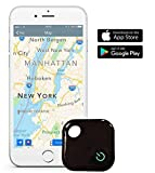 Key Finder,MIGOBI Bluetooth Anti-Lost Location Tracker Alarm Two-Way Wallet Locator Phone Tracker Device with Selfie Remote Control Shutter for iOS/Android