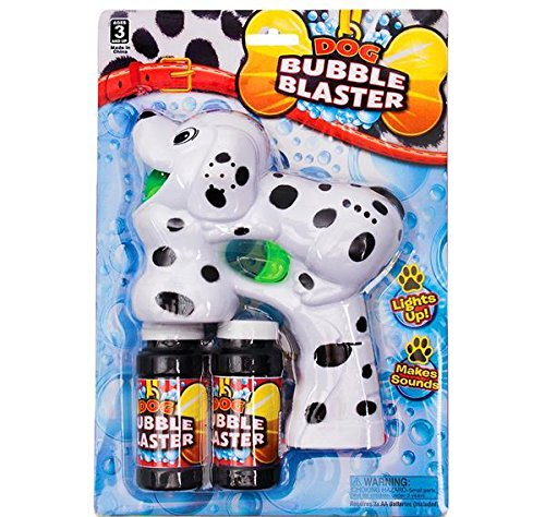 7.5'' LIGHT-UP DALMATION BUBBLE BLASTER WITH SOUND, Case of 36