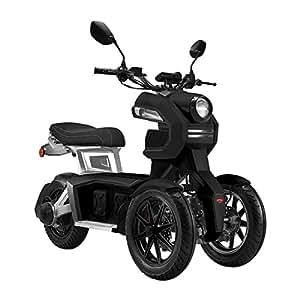 Moto Eléctrica Scooter Doohan iTank Negra