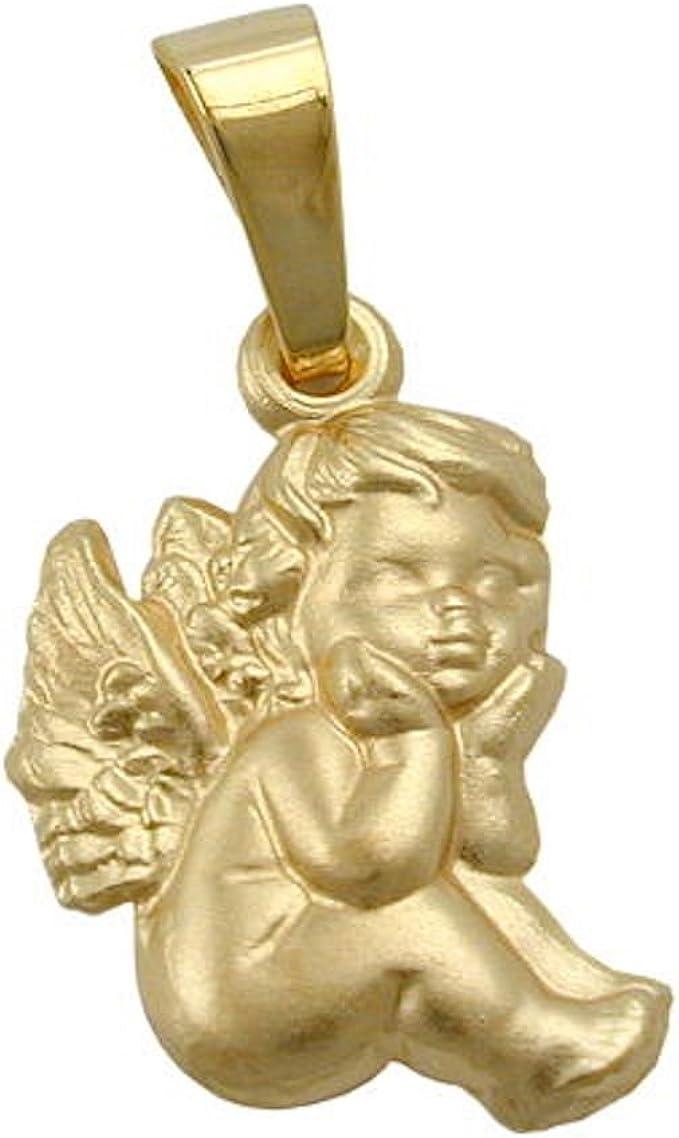 Engel Schutzengel aus 333 Gold Gelbgold Anhänger Goldanhänger Halsschmuck