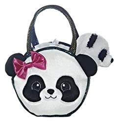Aurora World Pretty Panda Fancy Pals Pet Carrier