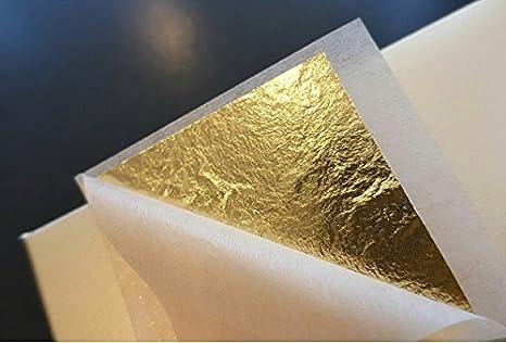Size 1.2X1.2 Gold Leaf Sheets 30 pcs