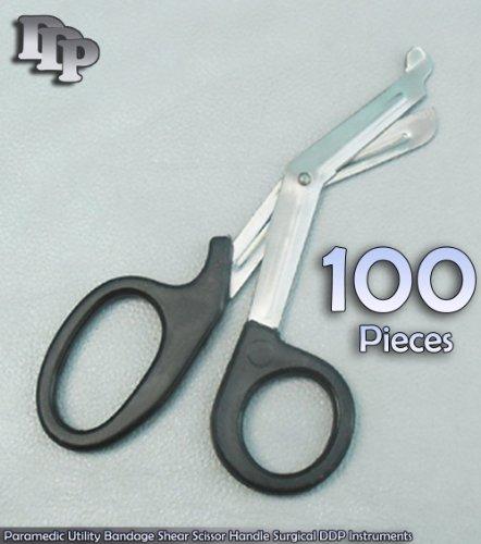 100 PCS Of Paramedic Utility Bandage Shear Scissor 7.25