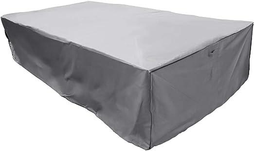 Royaume-Uni Imperméable Jardin Meubles De Patio Cover Housses pour table en rotin Cube Outdoor