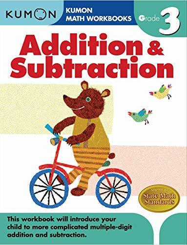 Grade 3 Addition & Subtraction (Kumon Math Workbooks) (Kumon Math Grade 3)