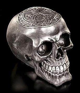 Gothic Schädel Skull Totenkopf Totenschädel Figur Modell Ornament
