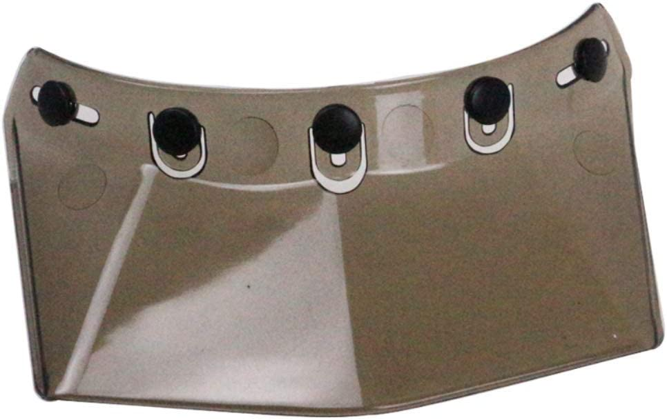 black YGFS Handmade Vintage Fiberglass Motorcycle Helmet Dot Certification Adult Full Face Retro 3//4 Helmet
