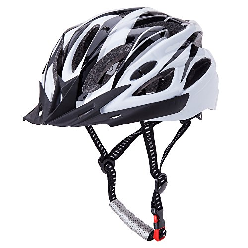 CCTRO Adult Cycling Bike Helmet, Eco-Friendly Adjustable Trinity Men Women Mountain Bicycle Road Bike Helmet Safety Protection