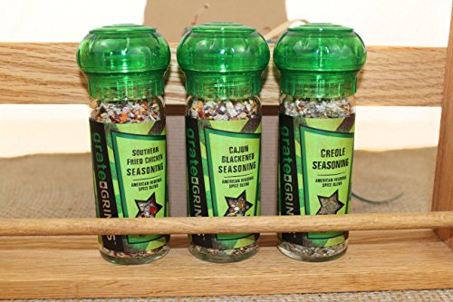 The Southern Spice Collection (3 pack) Gift Set Southern Fried Chicken Seasoning, Creole Seasoning, Cajun Blackened Seasoning